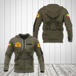 Customize Myanmar Coat Of Arms Hoodies