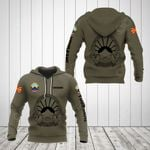 Customize Macedonia Coat Of Arms Hoodies