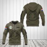 Customize Paraguay Coat Of Arms Hoodies