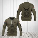 Customize Serbia Coat Of Arms Hoodies