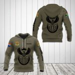 Customize South Africa Coat Of Arms Hoodies