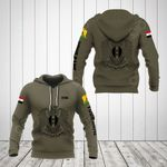 Customize Syria Coat Of Arms Hoodies
