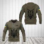 Customize Ukraine Coat Of Arms Hoodies