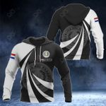 Customize Paraguay Coat Of Arms Giant Print 3D All Over Print Hoodies