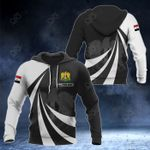 Customize Syria Coat Of Arms Giant Print 3D All Over Print Hoodies