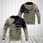 US EMS Flag Camo 3D All Over Print Shirts