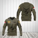 Customize Indonesia Coat Of Arms Hoodies