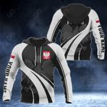 Customize Poland Coat Of Arms Special Form 3D All Over Print Hoodies