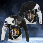 Customize New Zealand Coat Of Arms Polynesian Patterns 3D All Over Print Hoodies