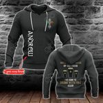 Customize Hello Darkness My Old Friend All Over Print Hoodies