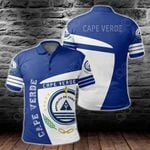 Cape Verde Coat Of Arms Sport Style All Over Print Polo Shirt