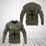 Customize Aruba Coat Of Arms Hoodies