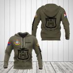 Customize Sint Maarten Coat Of Arms Hoodies