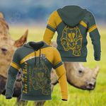 South Africa Save The Rhino All Over Print Shirts