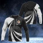 Customize Algeria Coat Of Arms Giant Print 3D All Over Print Hoodies