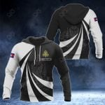 Customize Cambodia Coat Of Arms Giant Print 3D All Over Print Hoodies