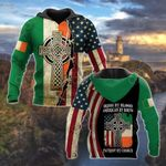 Irish By Blood American By Birth Patriot By Choice All Over Print Shirts