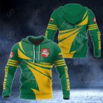 Customize Lithuania Flag Color New Style 3D Print All Over Print Hoodies