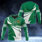 Customize South Africa Flag Color New Style 3D Print All Over Print Hoodies