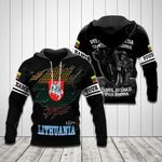 Customize Lithuania 3D All Over Print Hoodies