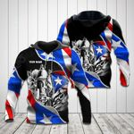 Customize Puerto Rico All Over Print Hoodies