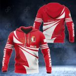 Customize Malta Flag Color New Style 3D Print All Over Print Hoodies