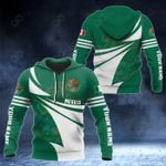 Customize Mexico Flag Color New Style 3D Print All Over Print Hoodies