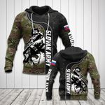 Customize Slovak Army Soldier Camo All Over Print Hoodies