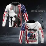 Customize America A Country So Damn Great That Even Him Haters Won't Leave All Over Print Shirts