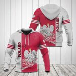 Poland Coat Of Arms 3D Special All Over Print Shirts