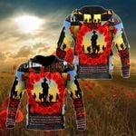 Remember ANZAC Day All Over Print Shirts
