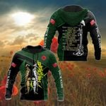 Customize ANZAC Day Soldiers All Over Print Shirts