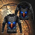 Customize Mexico Aztec Calendar Eagle Warrior 3D All Over Print Shirts