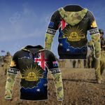 Australia Flag 3D Camo All Over Print Shirts