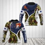 New Zealand Flag Camo Lest We Forget All Over Print Shirts