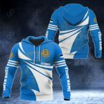 Customize Estonia Flag Color New Style 3D Print All Over Print Hoodies