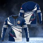 Customize Panama Flag Color New Style 3D Print All Over Print Hoodies