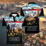 Customize Australia Firefighter All Over Print Polo Shirt