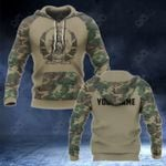 Customize Afghanistan Coat Of Arms And Camo New Style All Over Print Hoodies