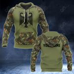 Customize Germany Coat Of Arms And Camo New Style All Over Print Hoodies
