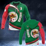 Algeria Coat Of Arms Pround Coat Of Arms All Over Print Hoodies