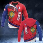 France Coat Of Arms Pround Coat Of Arms All Over Print Hoodies