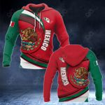 Mexico Coat Of Arms Pround Coat Of Arms All Over Print Hoodies