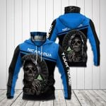 Customize Nicaragua Coat Of Arms - Reaper All Over Print Neck Gaiter Hoodie
