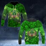 Patrick's Day Shamrock 3D All Over Print Hoodies
