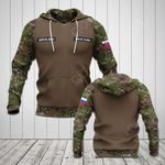 Customize Slovak Army Camo All Over Print Hoodies