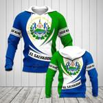 Customize El Salvador Flag 3D New Form All Over Print Hoodies