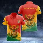 South africa Coat Of Arms - New Version All Over Print Polo Shirt