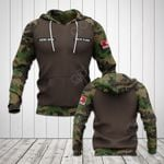 Customize Swiss Army Camo V2 All Over Print Hoodies