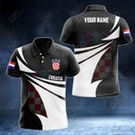 Customize Croatia Coat Of Arms New Style 3D Print All Over Print Polo Shirt